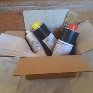 Probier-Set Leinöl für Holzmöbel